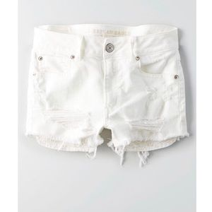 e9126c8b5d American Eagle Outfitters Shorts - American Eagle Outfitters Ripped White  Shorts